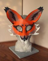 Full Face Leather Fox Mask by nondecaf