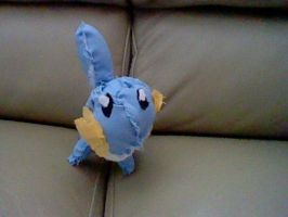 mudkip plush (front) by yoshifan12