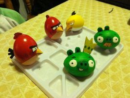 Its an Angry birds Easter! by AFXtuming