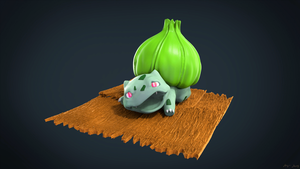 Pokemon: Bulbasaur by sergiosoares