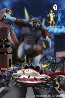 COM : Rogue's Birthday Rampage by whiteguardian