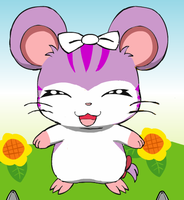New Hamtaro OC: Ashley by PenelopeHamuChan