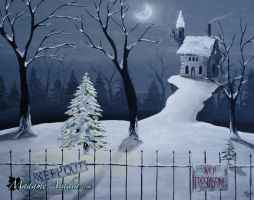 Alone for Christmas by MadameAradia