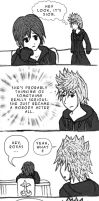 Random Xion and Roxas Comic by fridayivy