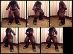 Ruster Bodysuit and Hooves by CuriousCreatures
