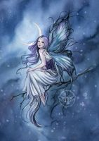 Frost Fairy by JannaFairyArt