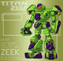 ZEEK industrial model (for T.I.T.A.N. 2100) by Grebo-Guru