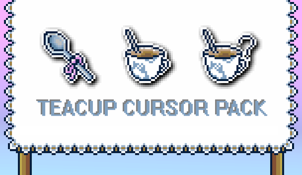 Teacup Cursor by ProctologyParty