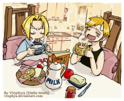 FMA-Dont like milk- by vtophya