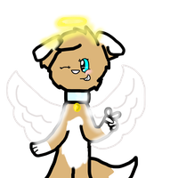 Lu the angel??? by Babedoge
