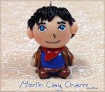 Merlin Clay Charm by Comsical