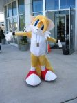 Nekocon 2004- TAILS COSTUME by Fyuvix