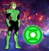 The DC Project: #3 Hayley Jordan/Green Lantern by huatist