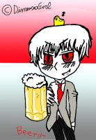 Prussia with Beer xD by DimensioGirl