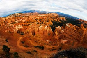 the Bryce Canyon by alhood