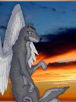 Guardian of the sky by Lonewolf23pro