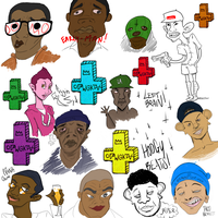 OFWGKTA Opencanvas session by Shrapnel-Jones