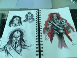 Sketching Klingons by stourangeau