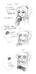 Which OC Cries When Complimented? by Eiliakins