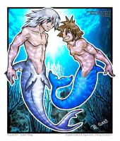 I can swim faster than you by kingdomhearts