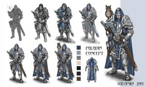 Paladin Concept by TheLastParanoid