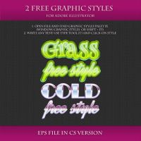 FREE Graphic Styles for Adobe Illustrator #10 by Love-Kay