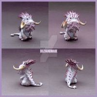 BewilderBeast mini Dragon Fanart HTTYD2 by buzhandmade