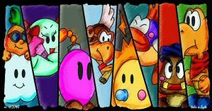 :Paper Mario: Buddies by take-a-byte