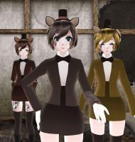 [MMD] FNaF Character Profiles: Freddy by MikuxLen4eves