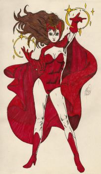Scarlet Witch by ManuSauci