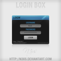 Login Box by N3xS