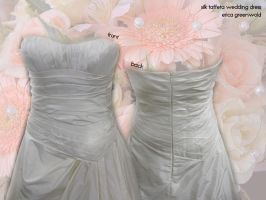 Wedding Dress Bodice Details by kairi-g