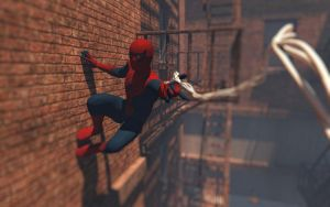 Spiderman Update by zosco
