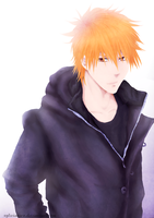 Bleach: Ichigo 1122013 by sylwiaiiwo