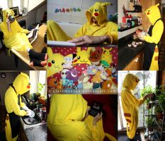 A wild Pikachu Appears! by claremanson