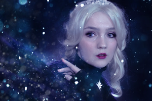 Real Life Disney: Elsa by KlairedeLys