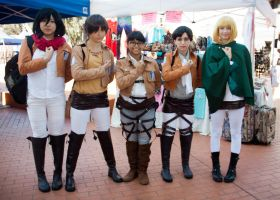 Attack on Titan by EriTesPhoto