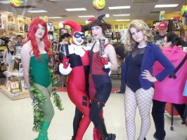 FCBD: Gorgeous Gals by jokersdoll