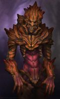 Alien Insectoid. by FirstKeeper