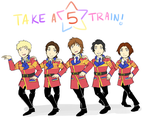 ABC-Z Take a 5 Train by Hikapi