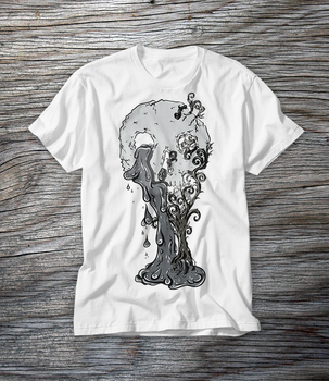 Of life and death - tshirt design by JosephSinger