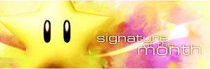 Sig of the Month contest banner by Shulky