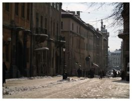 Lviv - morning by KubaJ