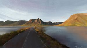 Virtual Plein Air - Iceland I by Narholt