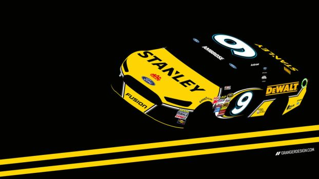 Marcos Ambrose Wallpaper - Vector Illustration by GrangerDesign