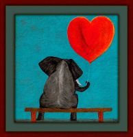 Elephant Love by fmr0