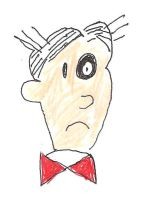 Dagwood Bumstead with a black eye by dth1971