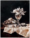Orchids in a wine glass III by drvghost