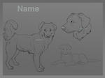 Border Collie Reference Sheet Auction- CLOSED by ZabbyTabby