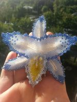 beaded orchid by Karo1987